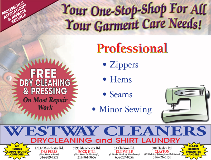 Dry cleaning coupons west des moines